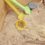 sandmuschel-sand